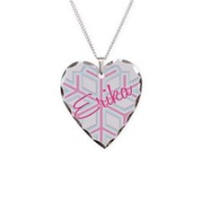 Erika Snowflake Personalized Necklace