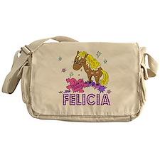I Dream Of Ponies Felicia Messenger Bag