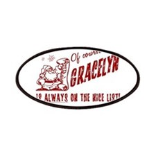 Nice List Gracelyn Christmas Patches