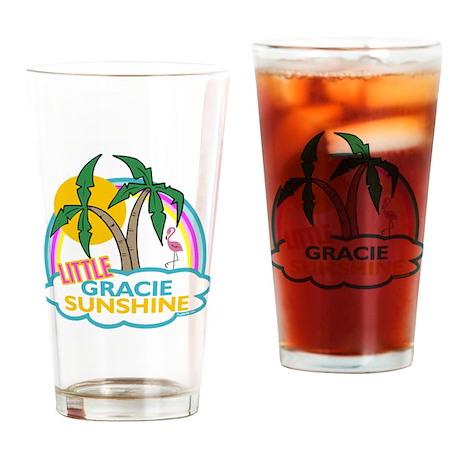 Island Girl Gracie Personaliz Drinking Glass