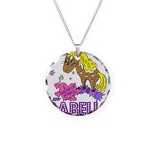 I Dream Of Ponies Isabella Necklace Circle Charm