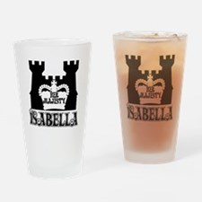 Her Majesty Isabella Drinking Glass