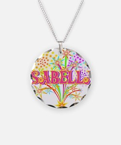 Sparkle Celebration Isabella Necklace Circle Charm