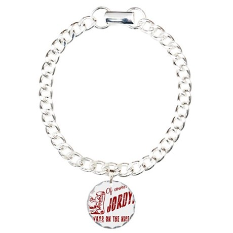 Nice List Jordyn Christmas Charm Bracelet, One Cha