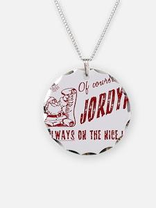 Nice List Jordyn Christmas Necklace
