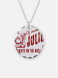 Nice List Julie Christmas Necklace