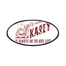 Nice List Kasey Christmas Patches