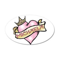 Sweetheart Michaela Custom Pr 38.5 x 24.5 Oval Wal