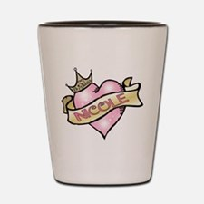 Sweetheart nicole Custom Prin Shot Glass