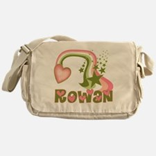 Rainbow and Stars Rowan Perso Messenger Bag