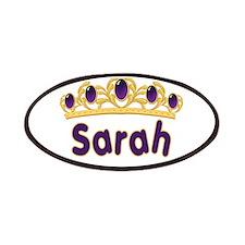 Princess Tiara Sarah Personal Patches
