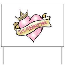 Sweetheart Shannon Custom Pri Yard Sign