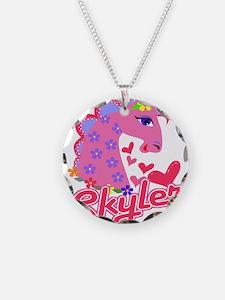 Skyler Loves Ponies Necklace