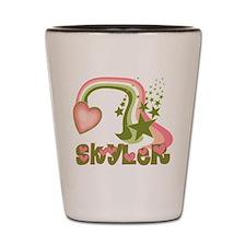 Funny Skyler Shot Glass