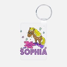 I Dream Of Ponies Sophia Keychains