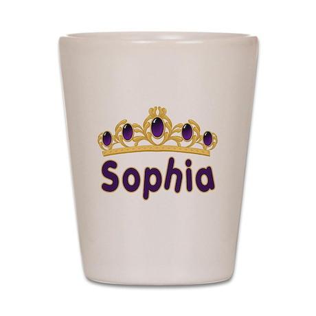 Princess Tiara Sophia Persona Shot Glass