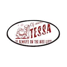 Nice List Tessa Christmas Patches