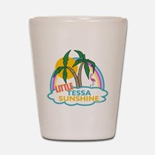 Island Girl Tessa Personalize Shot Glass
