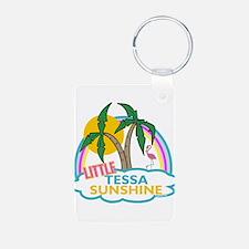 Island Girl Tessa Personalize Keychains