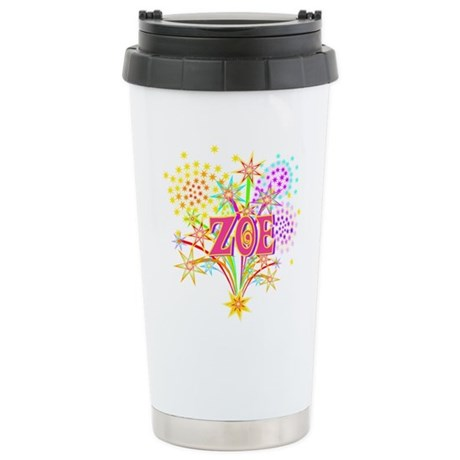 Sparkle Celebration Zoe Stainless Steel Travel Mug