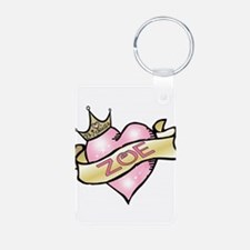 Sweetheart Zoe Custom Princes Keychains