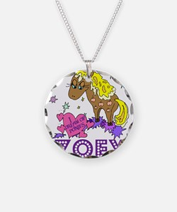 I Dream Of Ponies Zoey Necklace
