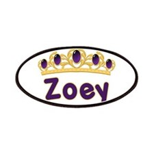 Princess Tiara Zoey Personali Patches