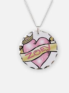 Sweetheart Zoey Custom Prince Necklace