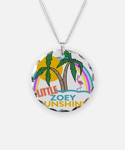 Island Girl Zoey Personalized Necklace