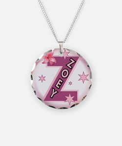Zoey 1 inch Button Collection Necklace