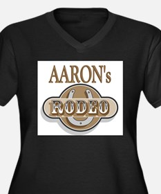 Aaron's Rodeo Personalized Women's Plus Size V-Nec