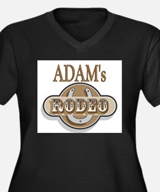 Adam's Rodeo Personalized Women's Plus Size V-Neck