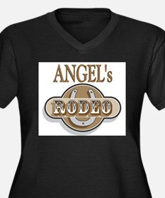Angel's Rodeo Personalized Women's Plus Size V-Nec