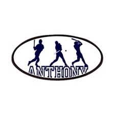 Baseball Anthony Personalized Patches