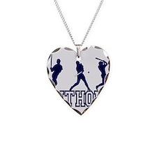 Baseball Anthony Personalized Necklace