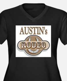 Austin's Rodeo Personalized Women's Plus Size V-Ne