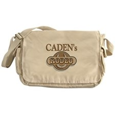 Caden's Rodeo Personalized Messenger Bag