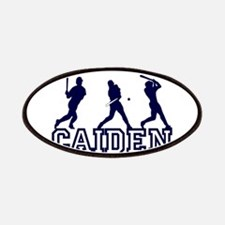 Baseball Caiden Personalized Patches