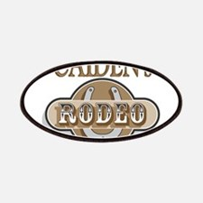 Caiden's Rodeo Personalized Patches