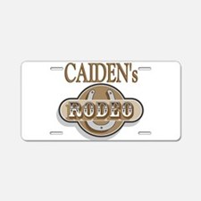 Caiden's Rodeo Personalized Aluminum License Plate