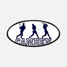 Baseball Camden Personalized Patches