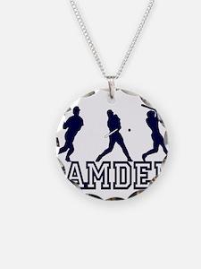 Baseball Camden Personalized Necklace