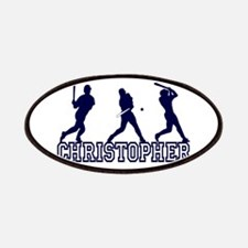 Baseball Christopher Personal Patches