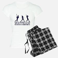 Baseball Nathan Personalized Pajamas
