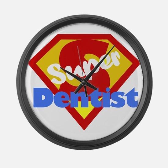 Super Dentist DDS Large Wall Clock