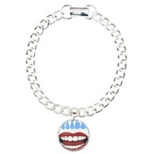 Healthy Smile Charm Bracelet, One Charm