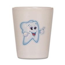 Healthy Happy Tooth Shot Glass