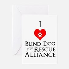 Blind dog Greeting Cards (Pk of 20)
