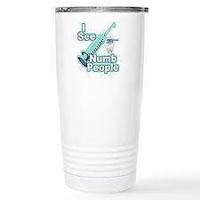 I See NUMB People! Travel Coffee Mug