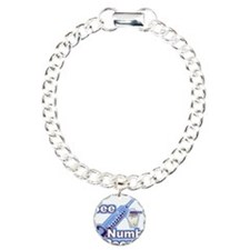 I See NUMB People! Charm Bracelet, One Charm
